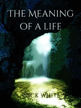 The Meaning of a Life cover - picture of a cave by the sea